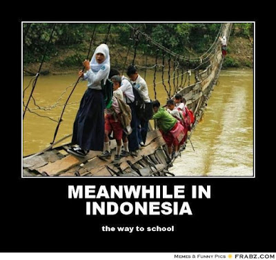Meanwhile in Indonesia