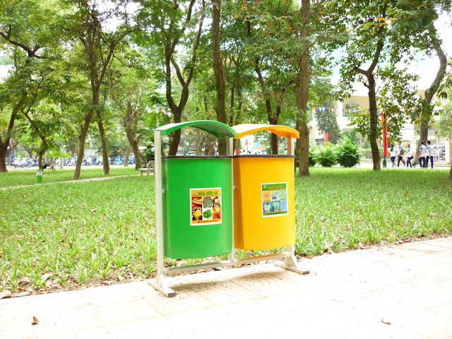 Xử lý rác thải ở dự án Eco Green City