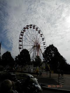 Chartres Ferris Wheel Copyright 2012 Kaliani Devinne