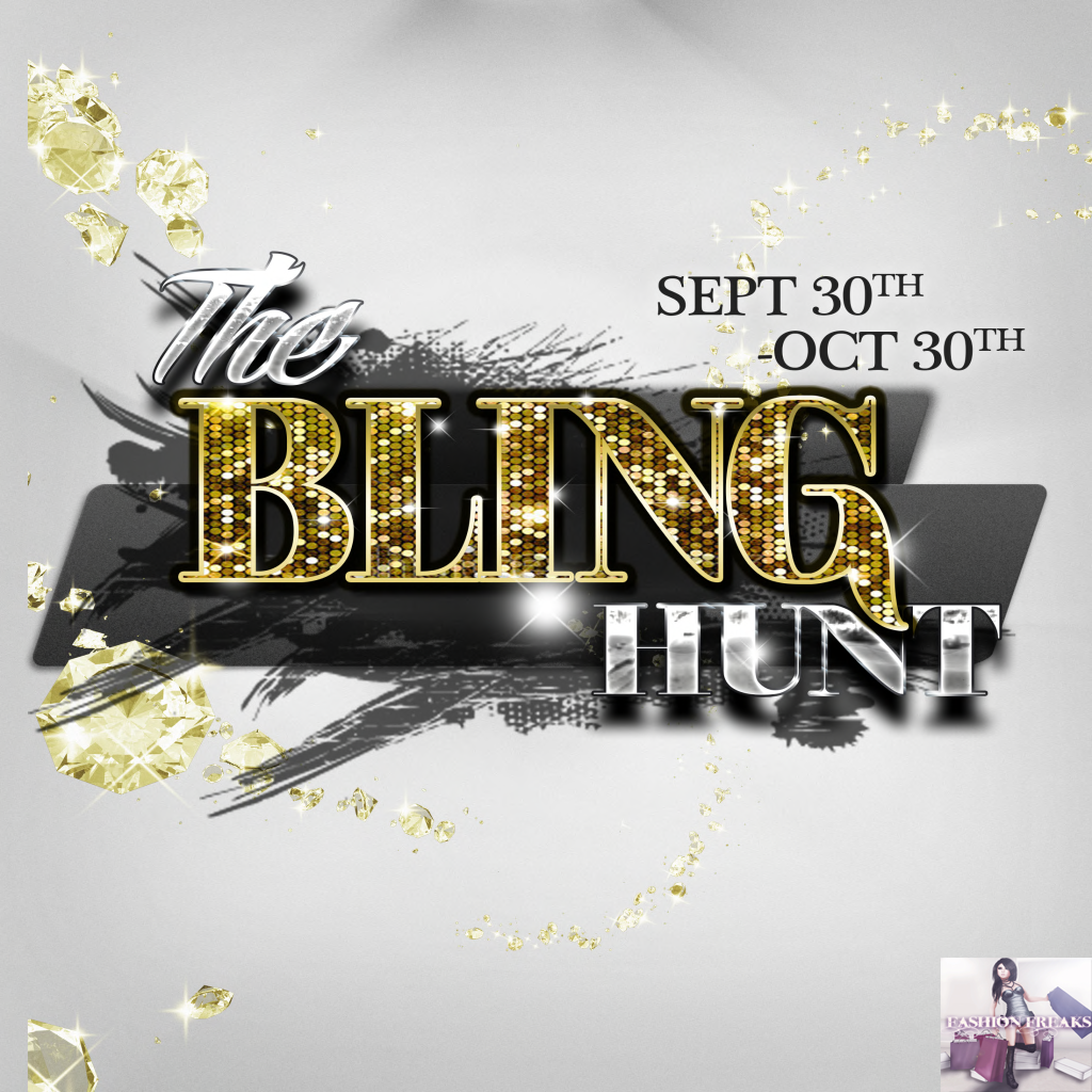 The Bling Hunt - sept 30 - oct 30, 2014