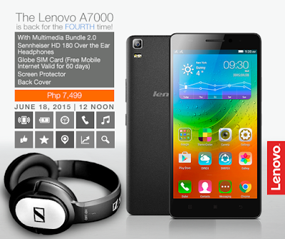 Lenovo A7000 Multimedia Bundle 2.0