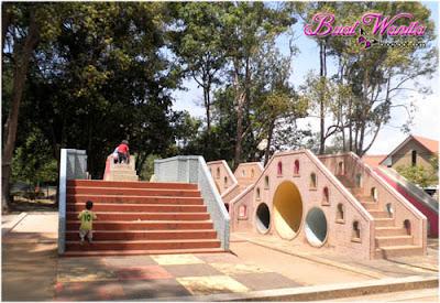 Tempat Menarik dan Best Di Kuantan Pahang, Playground Unik, Taman Teruntum.