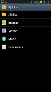 Gestione file su Android