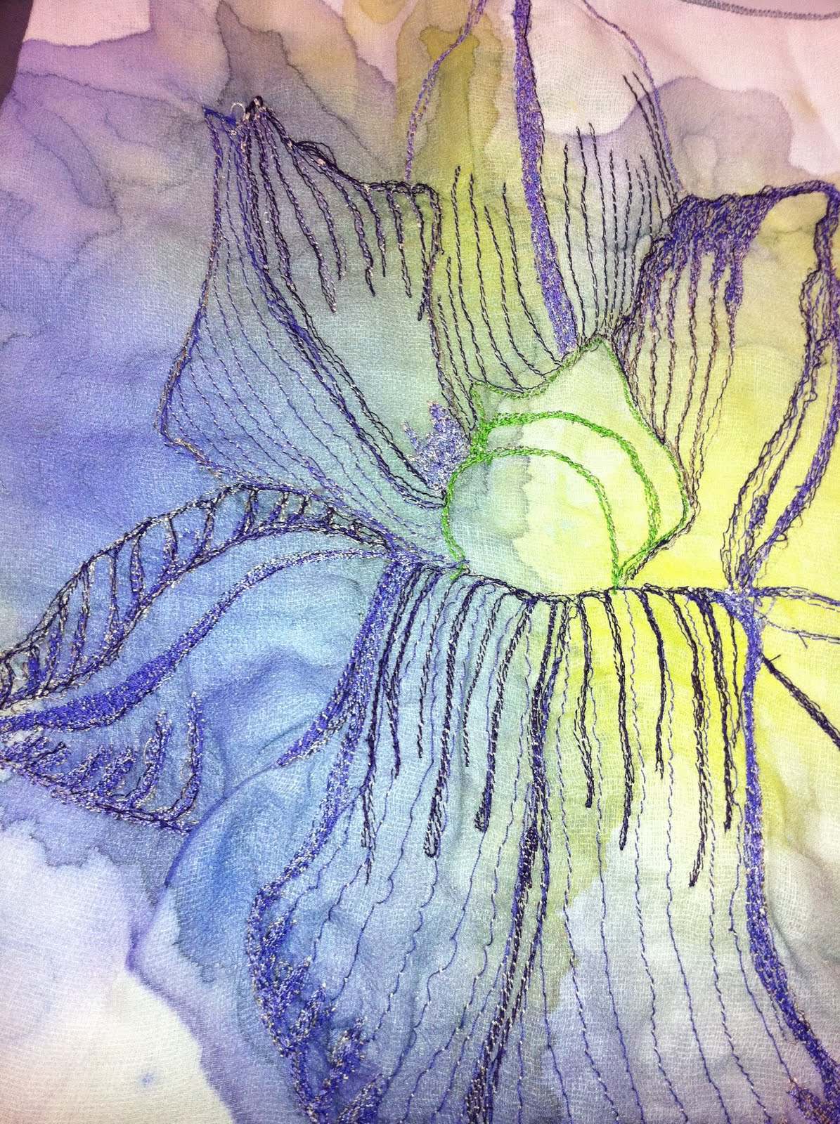 isobel limbrick textile design  final samples  abstract florals