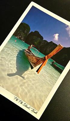 carte postale, postcard, postcrossing, Thaïlande, bullelodie