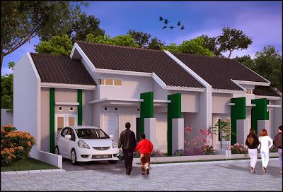 Desain Rumah Minimalis Type 36 (1 Lantai)