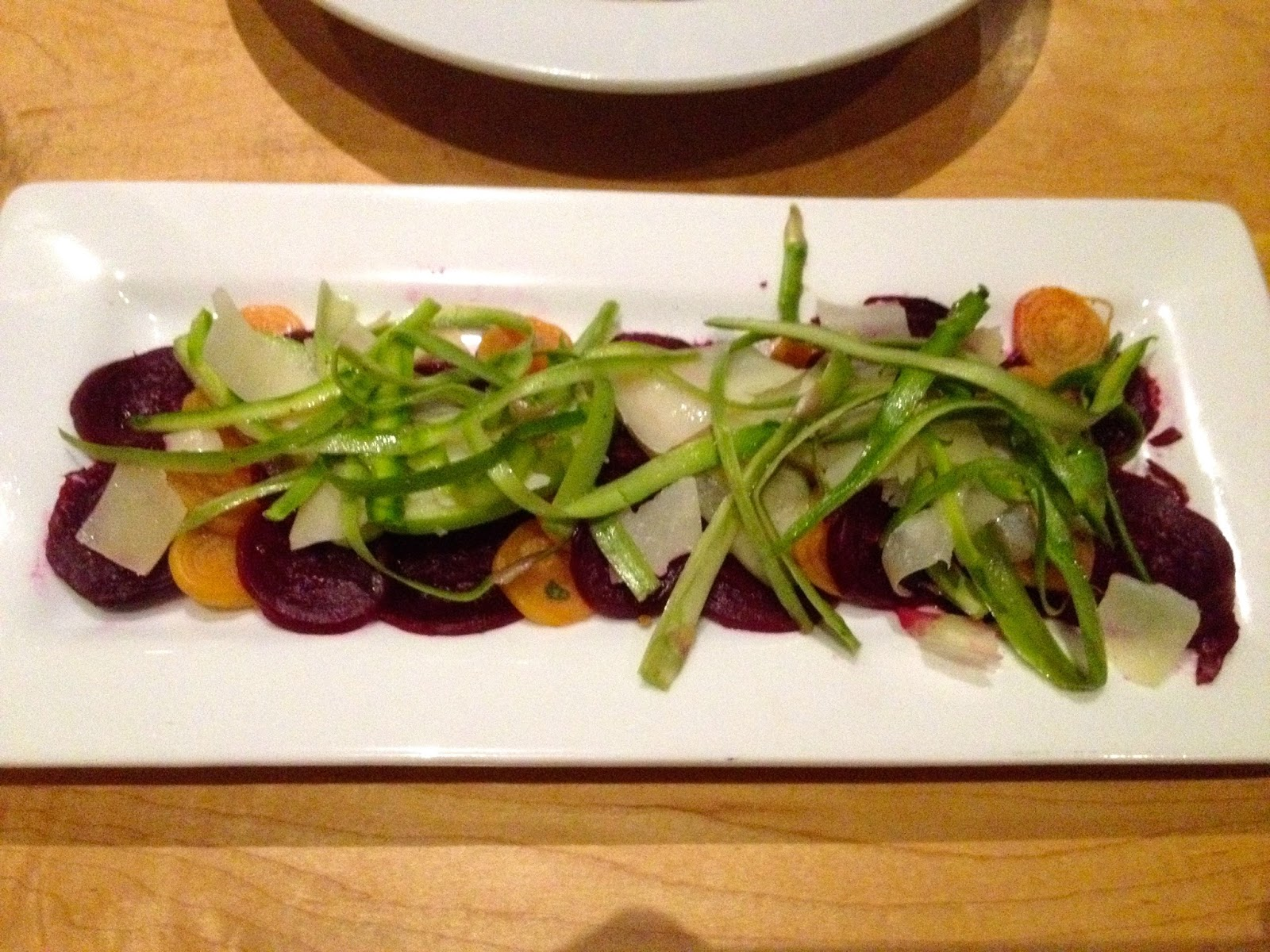 Beet Salad at the Peasantry