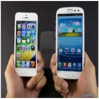of the specification of the latest mobile phones of samsung and iphone