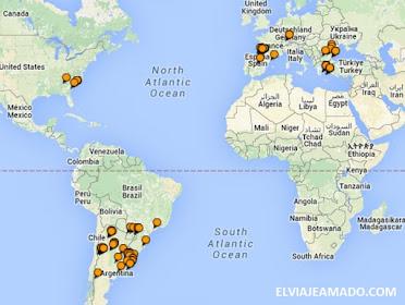 106 Ciudades visitadas!