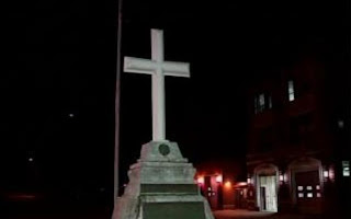 Woonsocket Cross is Coming Down