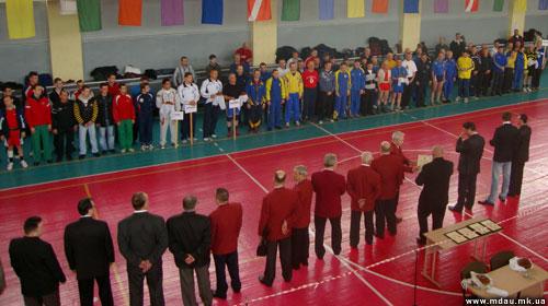 Спортивні новини Миколаївського ДАУ березня-квітня 2010 року.
