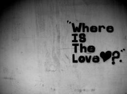 Where is love ?