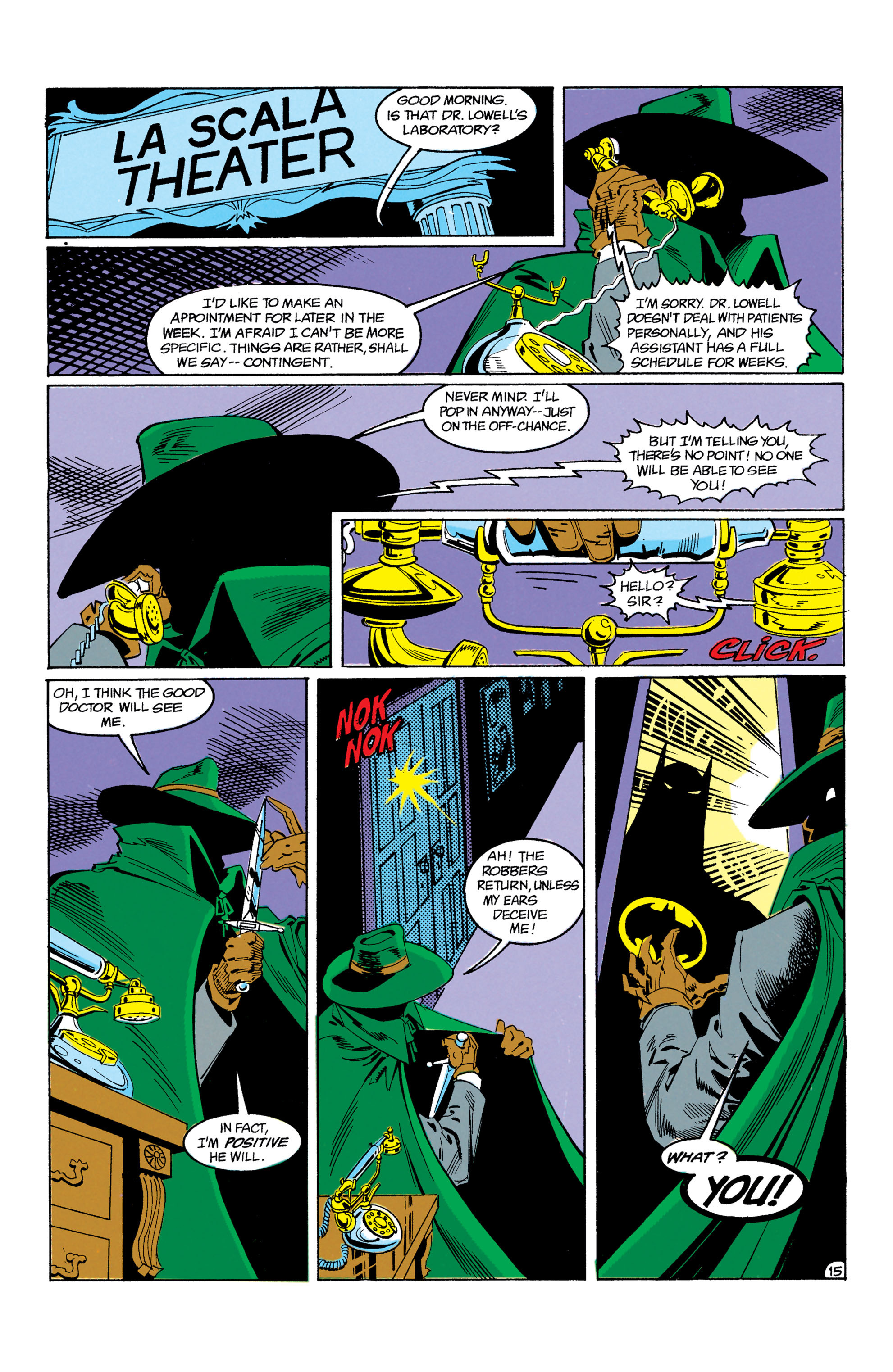 Detective Comics (1937) Issue #605 Page 16