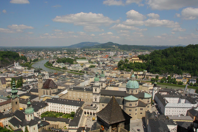 Scenic view of Salzburg Austria
