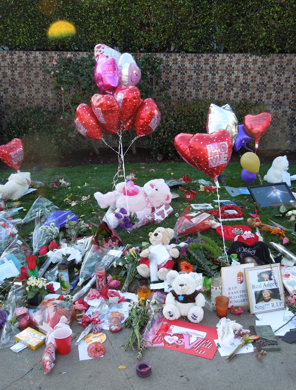 Whitney Houston memorial tribute