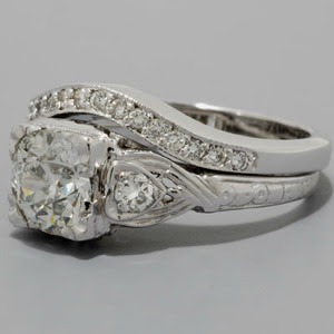 big engagement ring big diamond ring big wedding dress big jewelry - Big Wedding Rings