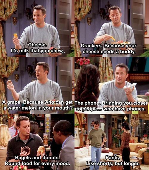 F.R.I.E.N.D.S Chandler's Funny Logic!