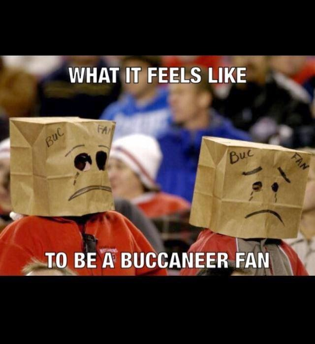 what it feels like to be a buccaneer fan