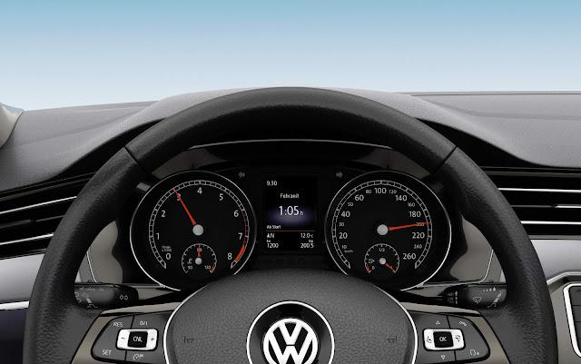 Novo VW Passat 2016 - Brasil - painel - opcional