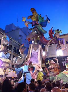 Falla de la Plaza del Pilar