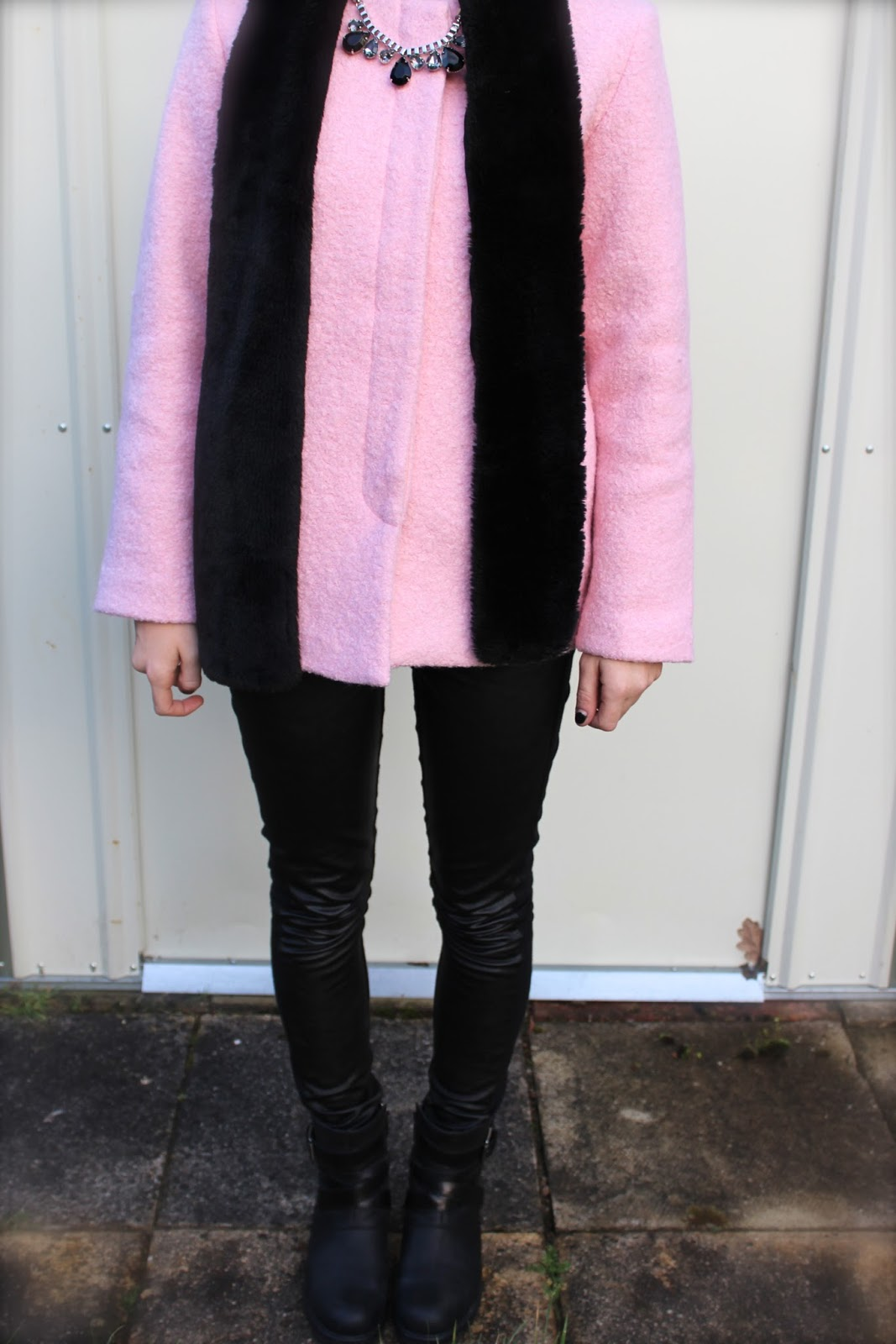 The Whitepepper Boucle Pink Jacket