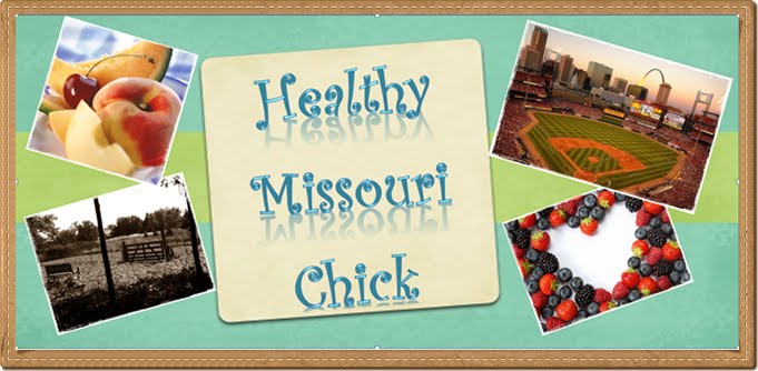 I'm becoming one Healthy Missouri Chick!