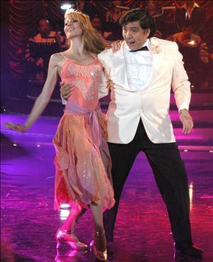 Huicho Domínguez bailando