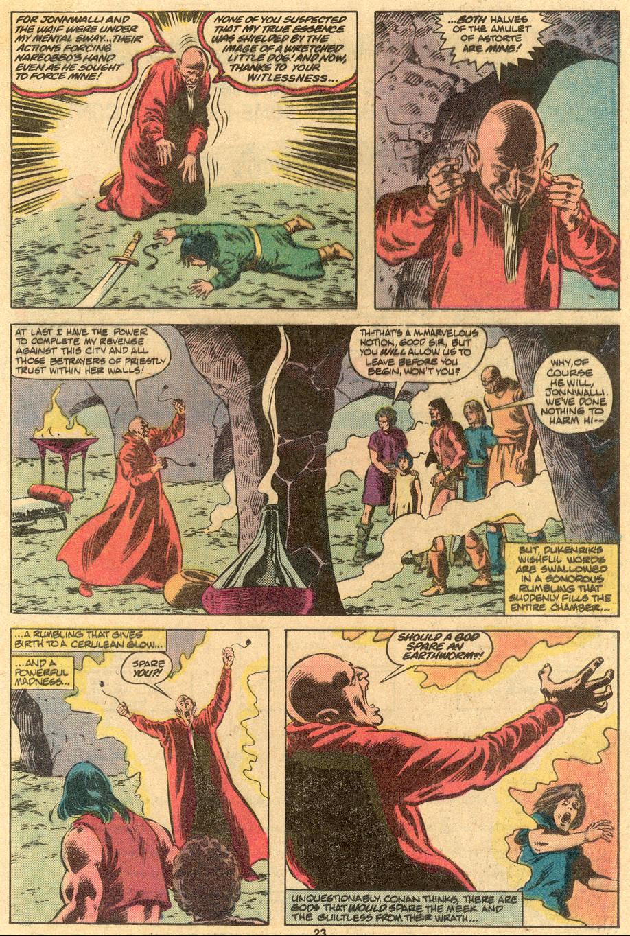 Conan the Barbarian (1970) Issue #122 #134 - English 19