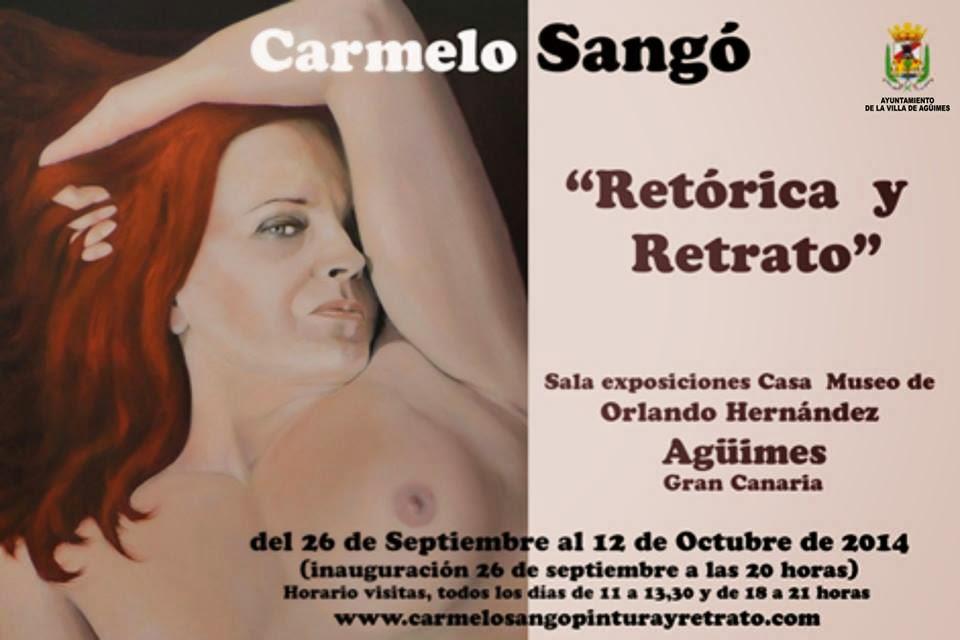"Expo ""Retórica y retrato"" de Carmelo Sangó"