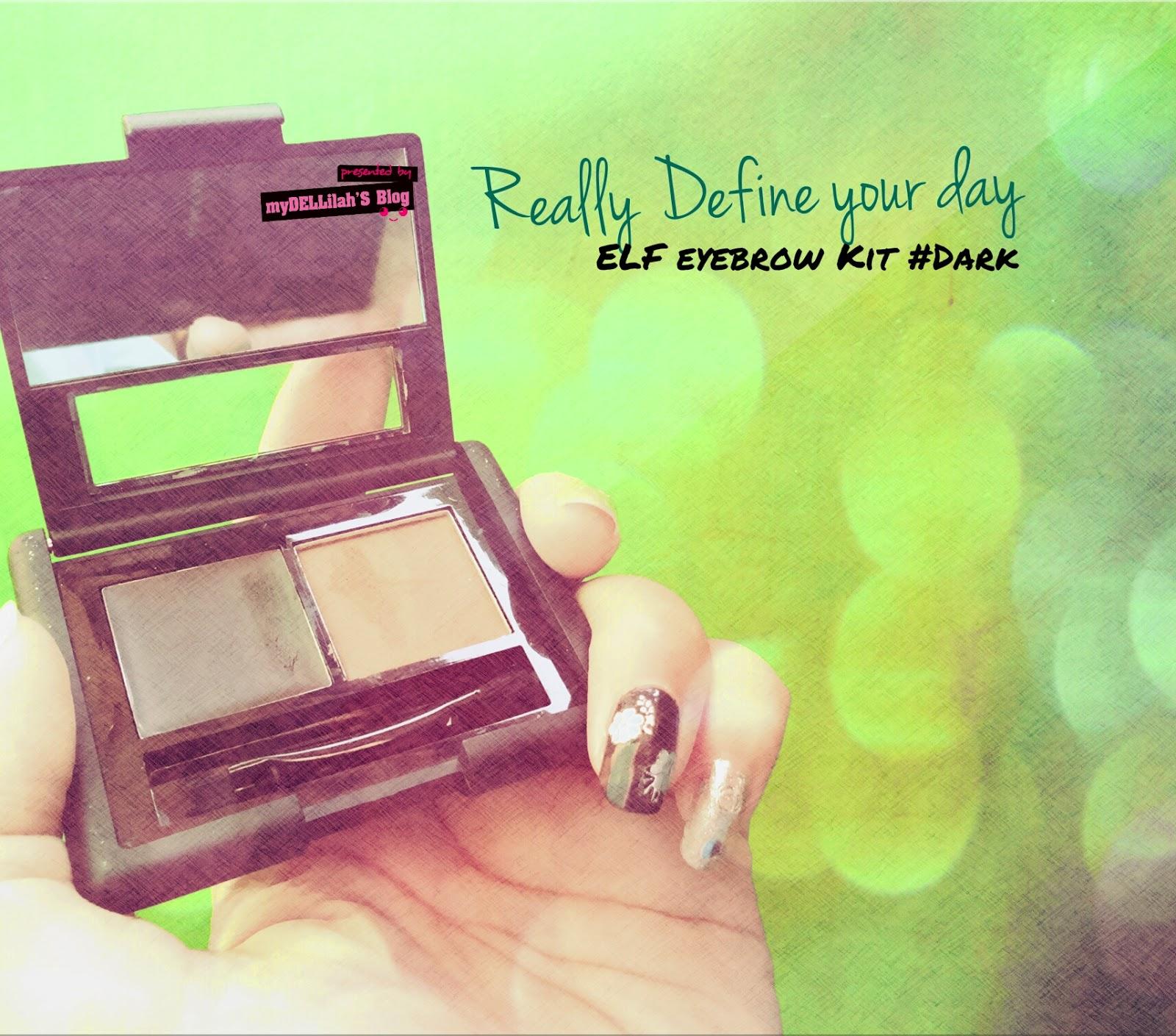 ELF Eyebrow Kit - DARK