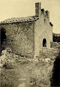 La capella de Sant Martí del Castell segons una fotografia de 1936. Butlletí del Centre Excursionista de Catalunya número 491