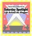 I Was the Sat. Spotlight - Life Behind the Blogger