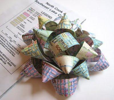 ริบบิ้นกระดาษใช้แล้ว วัสดุเหลือใช้ทำอะไร  ของเหลือใช้ทำโครงงาน  ของเหลือใช้ทำของขวัญ โครงงานจากวัสดุเหลือใช้