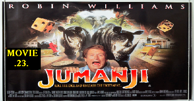 Jumanji, 1995, Hollywood, Comedy, Adventure, Puzzle, Game over,