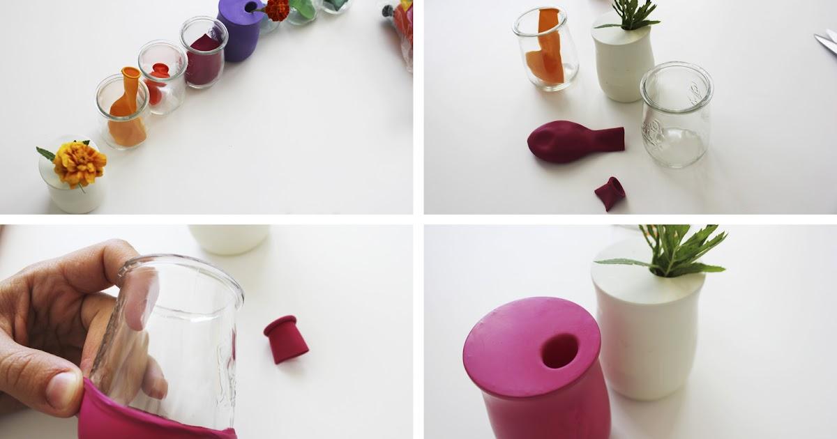 mam recicla gerros de globus jarros de globos jarras. Black Bedroom Furniture Sets. Home Design Ideas