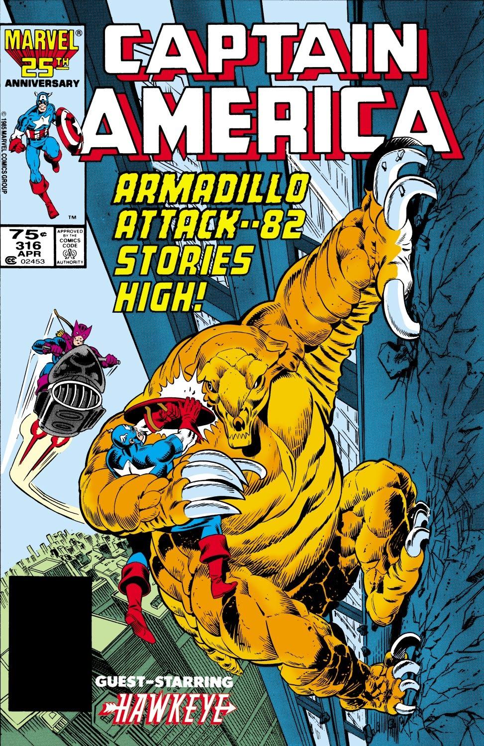 Captain America (1968) Issue #316 #244 - English 1