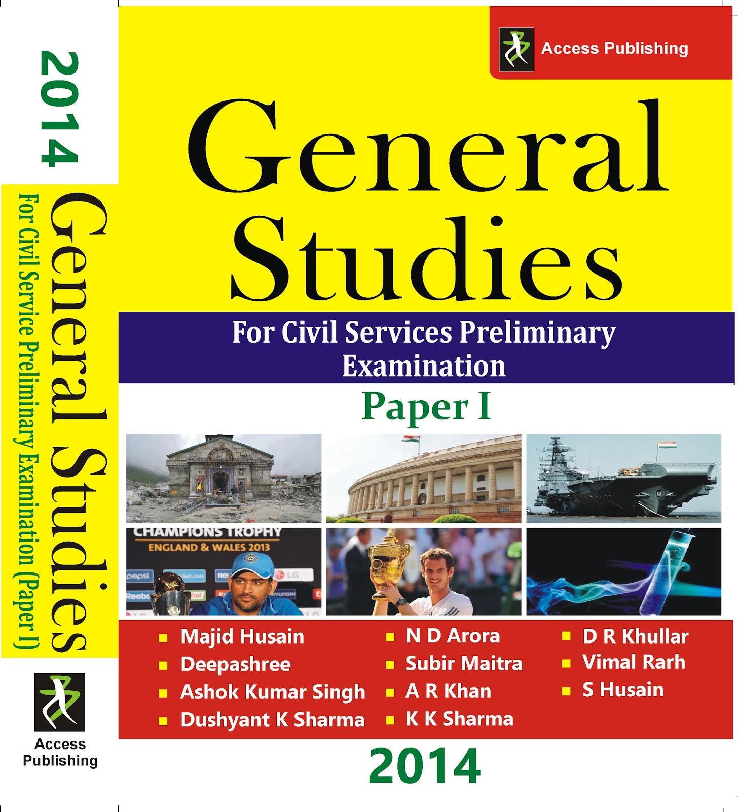 General Studies what are subjects