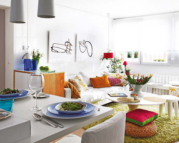 decoracao kitnet alugada : decoracao kitnet alugada:Small Space Apartment Decorating Ideas