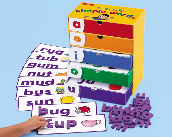 Tt I Can Build Simple Words Lakeshore Learning Materials