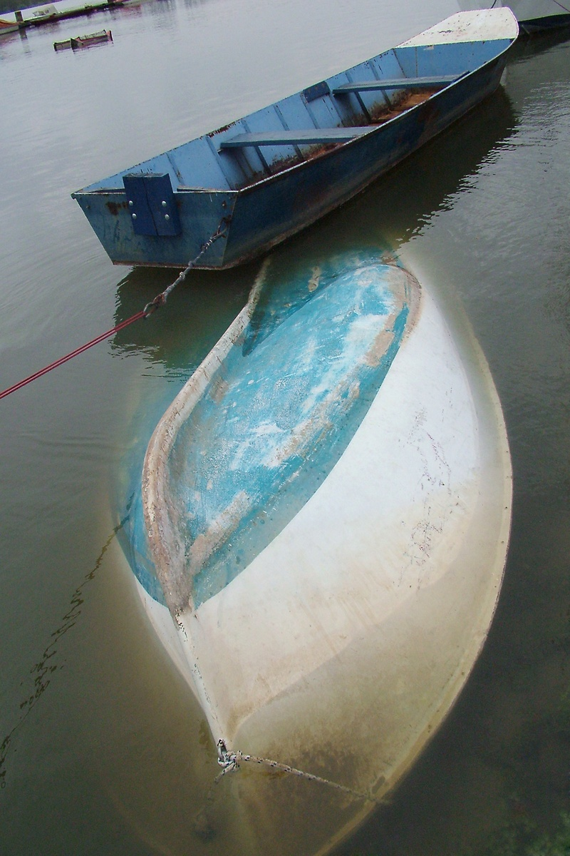 Reka Sava - Beograd - poplavljeni čamac