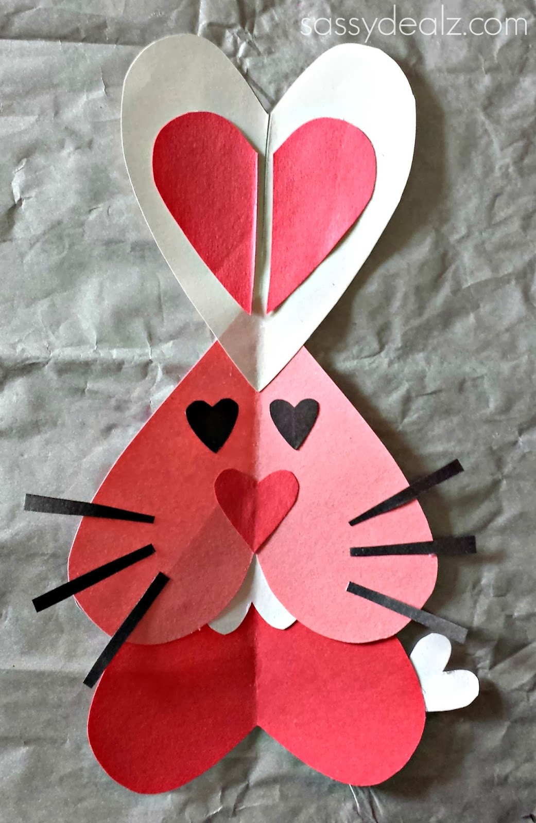 bunny valentine craft