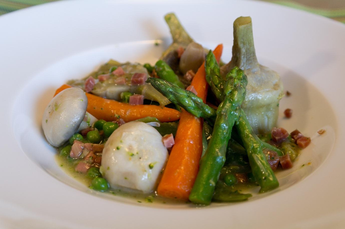 El que no mata engreixa menestra de verduras - Como preparar menestra de verduras ...