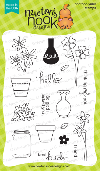 Versatile Vases Stamp set by Newton's Nook Designs