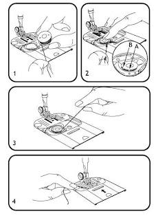 bobina canilla maquina de coser singer hd205