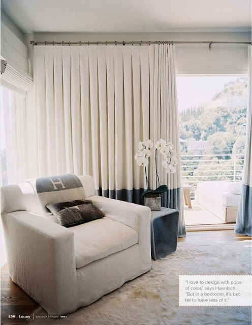 window treatments inverted back pleat