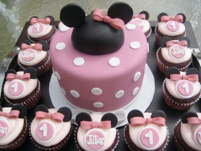 Delicious Minnie Mouse Cupcakes