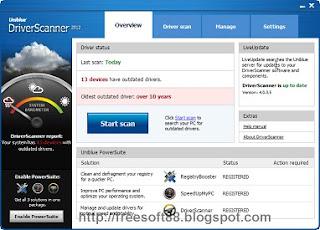 Uniblue DriverScanner 2013 v4.0.9.10