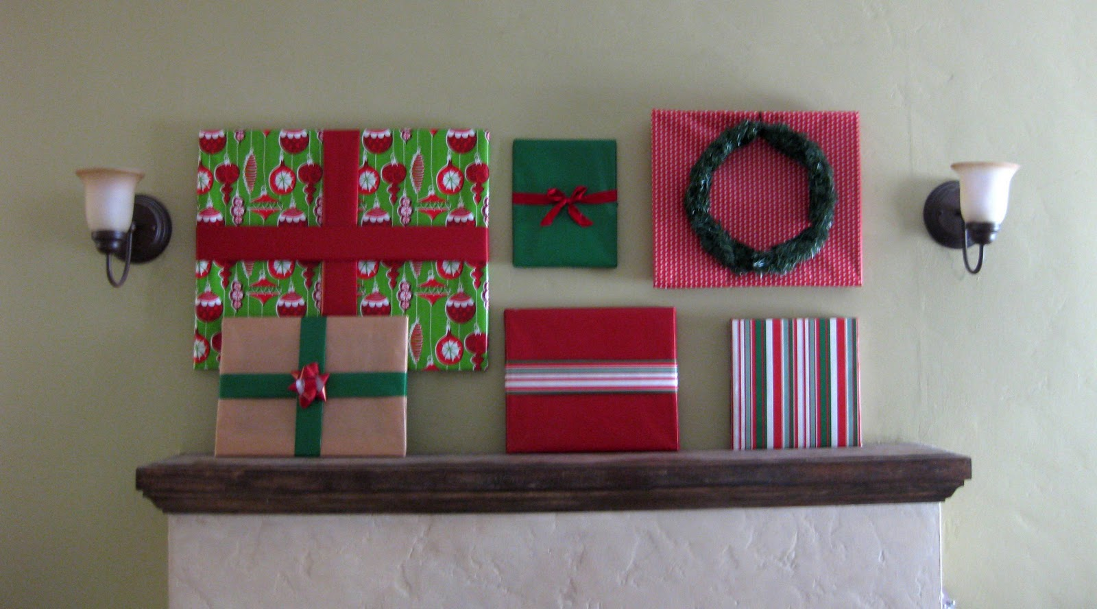 lemon wildwood wrapped christmas frames