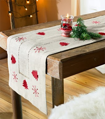 Events maresme hacer caminos de mesa para navidad for Caminos para mesas