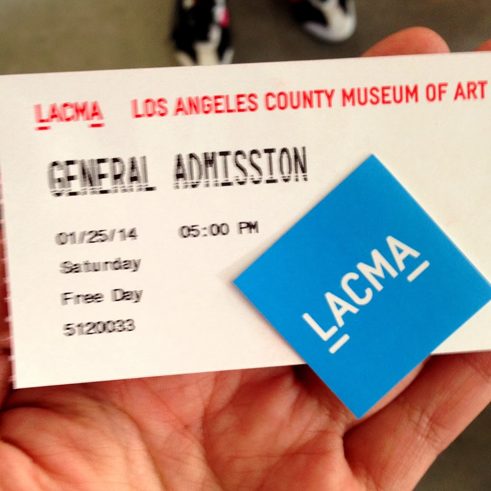 Free Day Tickets for LACMA